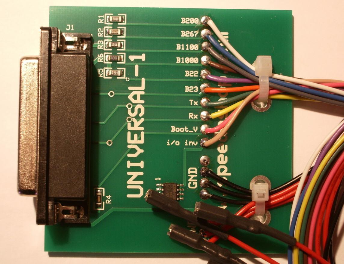 Universal 1 adapter